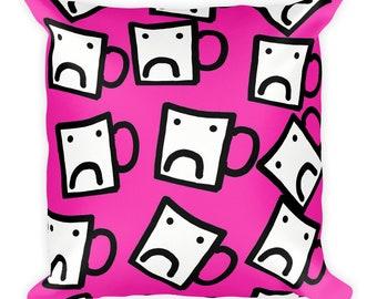 Mug Square Pillow