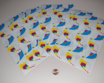 Mrs. Grossman's Vintage Kite Sticker Stickers Lot of 6 sheets of 18 = 108 from 1986
