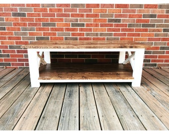 Tippecanoe Coffee Table {Northwest Indiana Pickup/Delivery Only No Shipping Out of State}