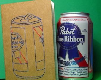 embroidered PBR pocket journal