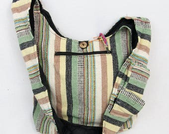 Boho hippie festival summer purse fair trade