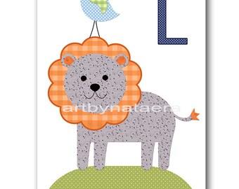 Lion Nursery Art Baby Nursery Decor Printable Decor Baby Boy Nursery Print Digital Print Printable Wall Art 8x10 11X14 INSTANT DOWNLOAD