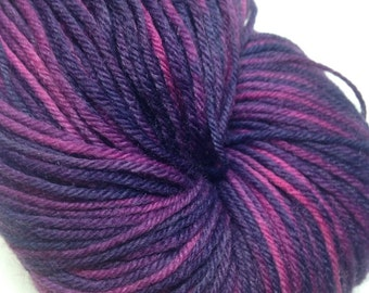 Zinger - purple and pink sock yarn