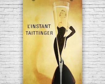 L'instant Taittinger, Grace Kelly, Art Print Poster