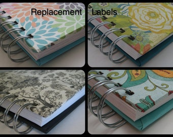 Address Replacement Labels - Extra Address Labels - Address Book - Guest Books - Greeting Card Organizers - Address Labels - Replace Extra