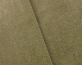 Hazelnut Brown Faux Suede Home Decorating Fabric, Fabric By The Yard