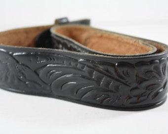 Hand Tooled Western Vintage Leather Belt Unworn Size S 24