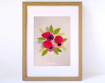 Floral print - Bouquet