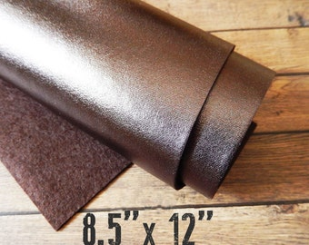 Metallic BRONZE Felt Sheet - 8.5 x 12 You Pick Quantity - Exclusive to A Market Collection