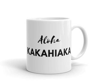 ALOHA KAKAHIAKA (Good Morning) Mug