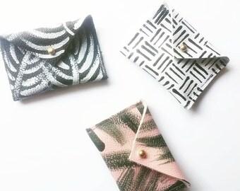 Pouchettes - Leather Mini Envelope Wallet