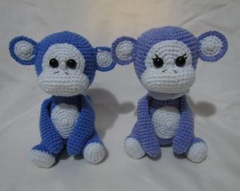 Amigurumi Little Monkey - Bundle