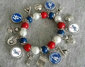 Los Angeles Dodgers bracelet
