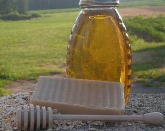 All Natural Goat's Milk Soap OATMEAL and HONEY