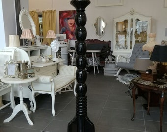 Candle Holder Deluxe Black High Gloss