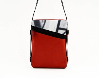 Handbag BeesBag Slim: Man bag of ecodesign cruelty free