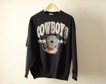 vintage 90s DALLAS COWBOYS nfl football sweatshirt