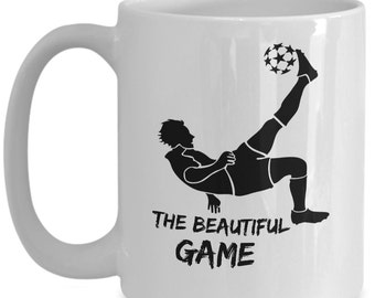 Soccer Gifts, Soccer Mug, 15oz Novelty Ceramic Coffee Tea Cup, Soccer Gift Ideas, Gift For Soccer Players, Soccer Gifts For Him, Boys, Kids