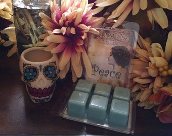 Peace Tarts Soy Wax Clamshell