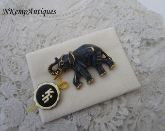 Western Germany brooch elephant for the collector