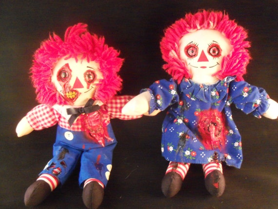 zombie raggedy ann and andy dolls - Raggedy Ann And Andy