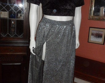 Plus Size Belly Dance Sequin Skirt Size 18/20