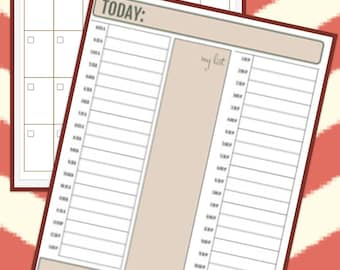 TIMELESS Planner: Personalized, Undated Monthly, Weekly, and/or Daily Planner, Calendar, Organizer with Custom Options