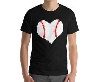 Love Baseball T-shirt-Baseball Shirt-Baseball T-shirt-Baseball Game Day T-shirt-Baseball Gift-Baseball Numbers T-Shirt-Baseball Tee-Baseball