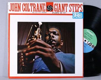 John Coltrane - Giant Steps - Vintage Vinyl Record Album 1962 Atlantic Stereo