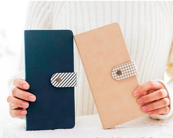 Minimalist Traveler's Planner, Diary,Portable Notebook, Planners,Weekly Planner,Leather Notebook