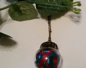 Christmas BULB NECKLACE
