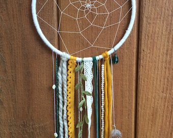 earthy bohemian dreamcatcher