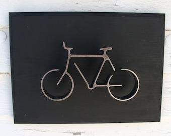 Metal Bicycle, Wall Decor, Bike Wall Art, Home Decor Bicycle, Wall Decor Bike Art, Groomsman Gift