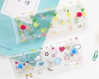 Cute Pencil Case -Pencil Pouch Receive Pouch