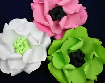 """X-Large, giant paper flower, large paper flower, big paper flower for any occasion """"AUTUMN"""""""