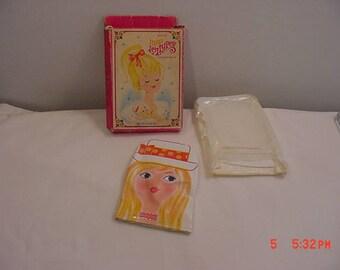 Vintage Avon Miss Lollypop Powder Mitt In Original Box  18 - 38
