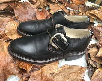 Vintage Shoes/ 90s/ genuine leather/ color Black/ number IT 35/ Uk 2.5/ Us 5/ Made in Italy
