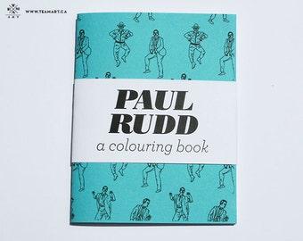 Paul Rudd - A Mini Colouring Book - 4 x 5 in