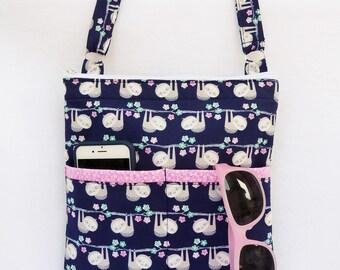 Sloth Crossbody Bag // Sling Bag // Cross body Purse