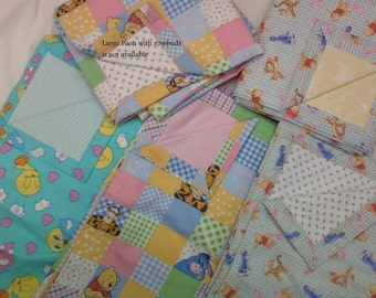 """Baby Blankets...handmade... 40"""" X 40"""" average... versitile....Sure to be a favorite... customizing available"""