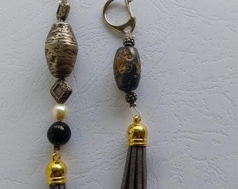 Key Chains, Tassel key Chains, Tassel Key chain Set , 2 Tassel key Chain, Tassel Key Rings, Handbag Accessories, Tassel Purse Charm,