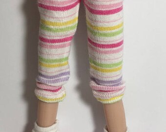 I love My Pastel Stripes...Leggings For Blythe...