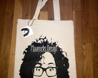 Maverick Screen Printed Large Tote
