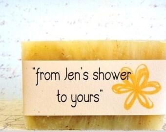Bridal Shower Favors - Wedding Favors - Bridal Shower Gift - Shower Favors - Sage Soap Favors - Bridal Favors - Short Notice -Wedding Shower