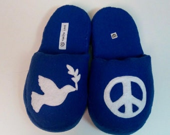 Peace Dove Slippers
