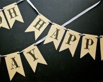 OH-HAPPY-DAY Banner e-Kit