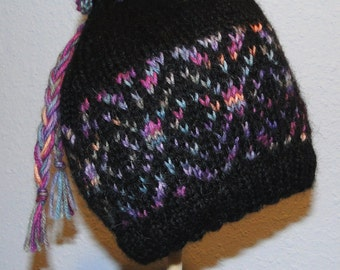 KNIT PATTERN - Kaleidosnow Hat