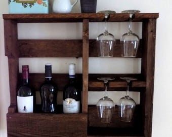 Support 4 wall wine cups