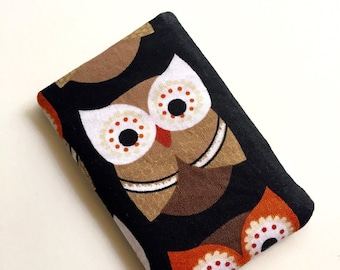 Pill Case BirthControl Pill Cozy- Wide Eyed Owls