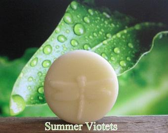 Summer Violets Organic Lotion Bar Pocket Size Summer Violets 100% Natural 2 oz